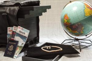 travel kit for mobile displays