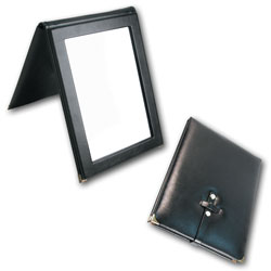 portable folding mirror