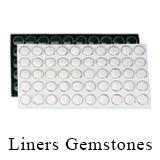 Gemstone liners
