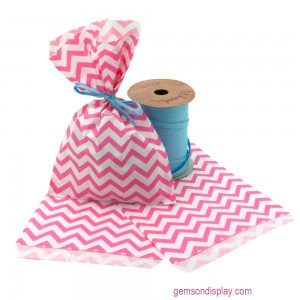 chevron gift bag