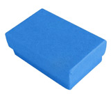 Cobalt Blue Cotton Filled Boxes
