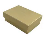 Gold Linen Cotton Filled Boxes