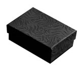 Swirl Black Cotton Filled Boxes