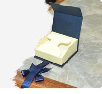 Gold Ribbon Boxes