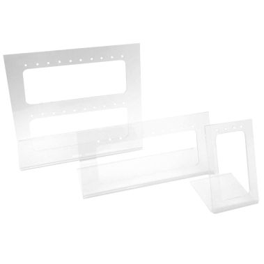 Multi-Pair 3 Piece Acrylic Earring Display
