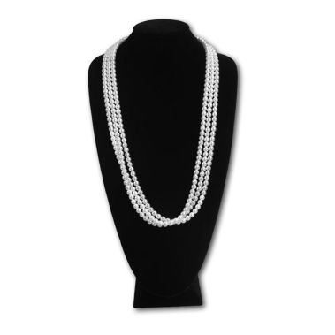 Extra Tall Necklace Display Black