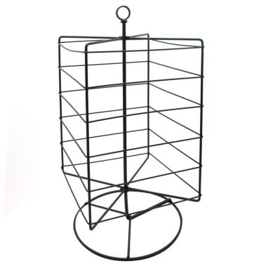 Rotating Metal Earring Card Stand