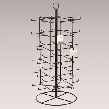 Rotating Metal Earring Rack