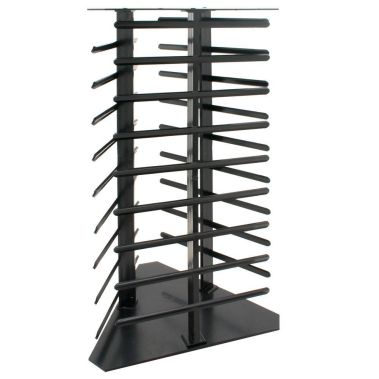 Revolving Earring Display 108 Cards, Black