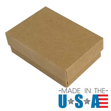 Premium Brown Kraft Cotton Filled Box #32