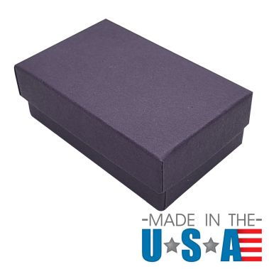 Premium Deep Purple Cotton Filled Box #32