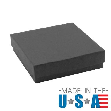 Premium Matte Black Cotton Filled Box (Bracelet) #33