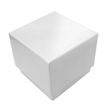 Glossy White Ring Box