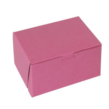 Strawberry Cupcake Box 7 x 7 x 4