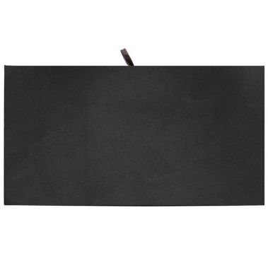 Black Leatherette Tray Liner (Full Size)
