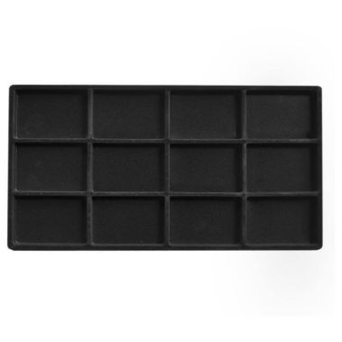 Flocked Tray Liner-12 Compartment-Full Size