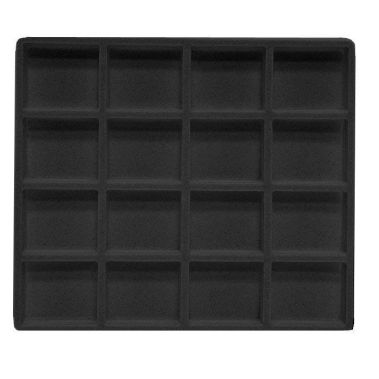 Flocked Tray Insert-16 Compartment-Half Size