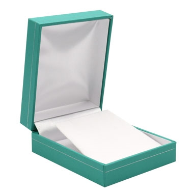 Teal Earring/Pendant Boxes
