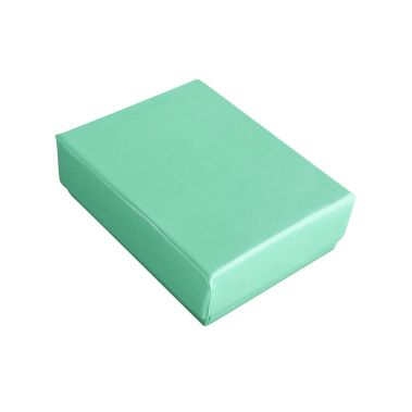 Teal Cotton Filled Box  #11