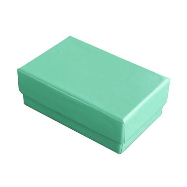 Teal Cotton Filled Box #21