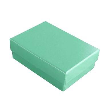 Teal Cotton Filled Box #32