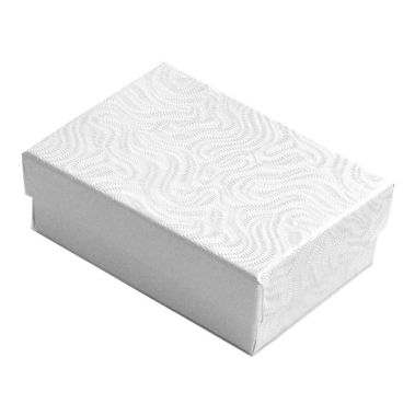Swirl White Cotton Filled Box #32