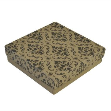 Damask Cotton Filled Box #33