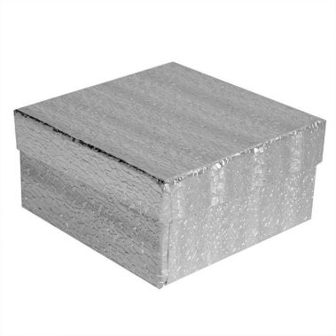 Silver Cotton Filled Box #34