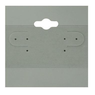 "Earring Cards 2"" x 2"" (Grey)"