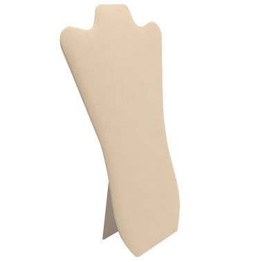 Beige Curved Necklace Easel