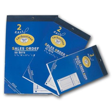 3 Part Carbonless Sales Book (Lg.)