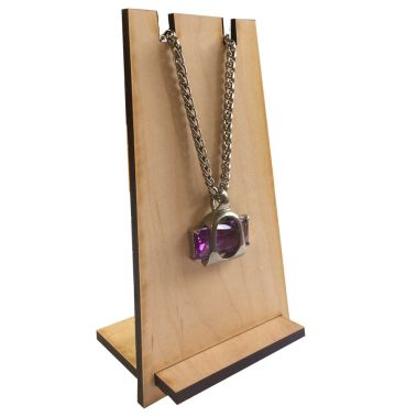 Wood Necklace Easel