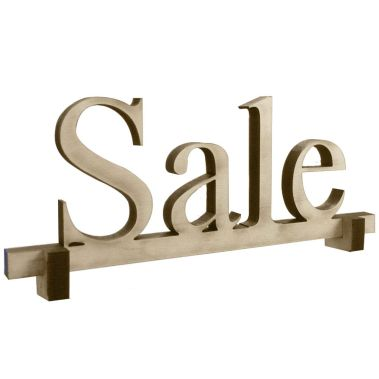 "Wood ""Sale"" Sign"