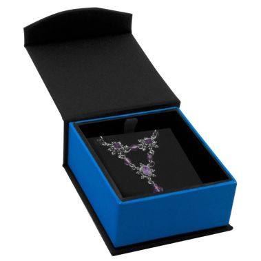 Indigo Magnetic Earring Pendant Box