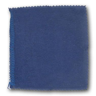 Blue Jewelry Polishing Cloth
