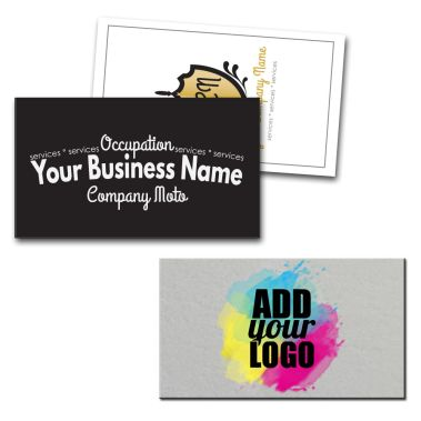 Square Corner Business Cards
