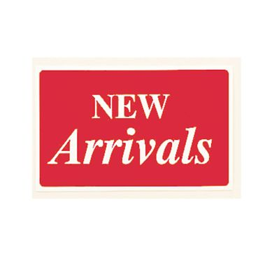 """New Arrivals"" Plastic Message Sign"