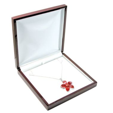 Rosewood Necklace Box