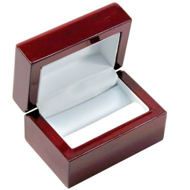Rosewood Dual Ring Box